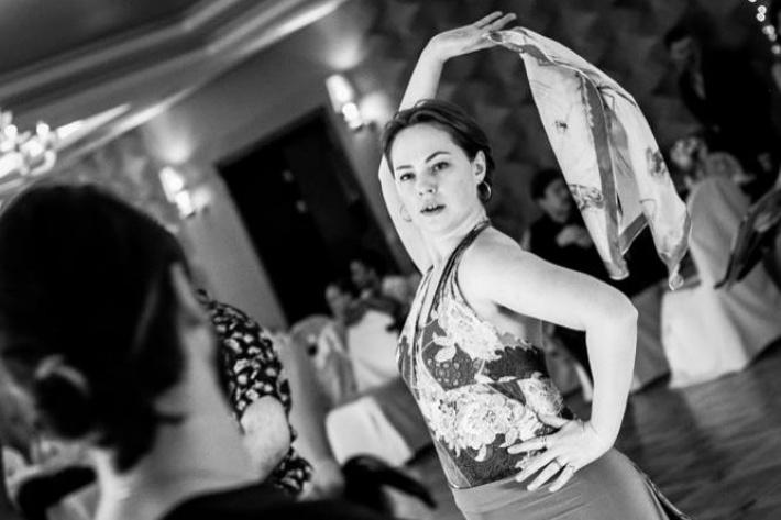 Семинары по аргентинскому фольклору для продолжающих с Марией Морено в клубе