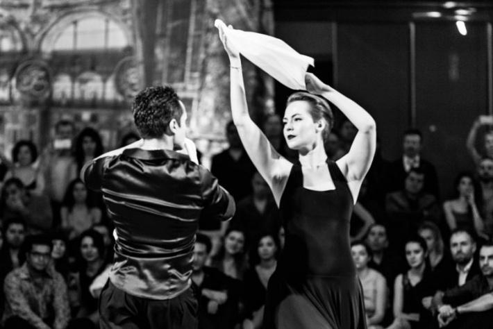 Семинары по аргентинской самбе с Марией Морено