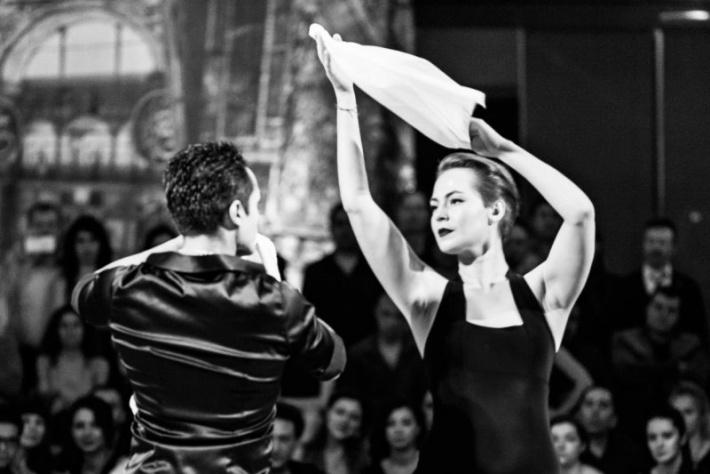 Открытый урок по аргентинской самбе с Марией Морено! Школа танцев «Ла Милонга», метро Павелецкая