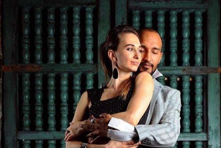 Бесплатный первый урок аргентинского танго для начинающих! Группа Рони Ндинга и Ксении Селюк
