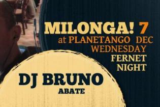 Милонга Wednesday Fernet Night. DJ - Bruno Abate!
