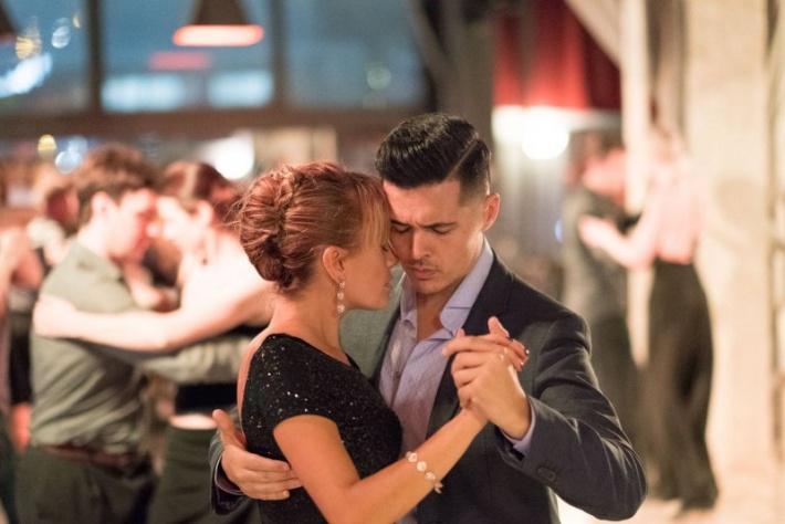 Открытый урок танго для продолжающих от Луиса Сквичиарини!