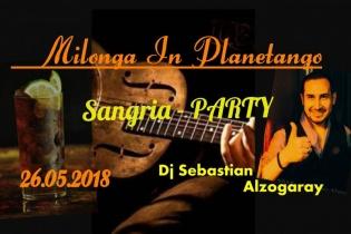 Милонга Sangria-party! DJ - Себастьян Альзогарай!