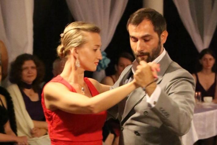 Открытый урок танго для продолжающих от Ялчина Угура и Веры Гоголевой!