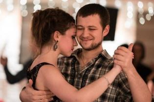 Открытый урок танго для продолжающих от Александра Крупникова и Полины Барсуковой!