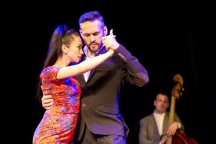 Открытый урок танго для продолжающих от Джани Гаип-Назарова и Марии Захаровой!