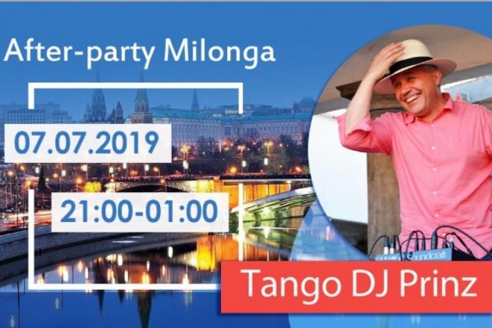 After-party танго-марафона «Encuentro Milonguero Moscow 2019»! DJ Prinz!