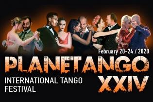 Фестиваль PLANETANGO-XXIV состоится с 20 по 24 февраля 2020!