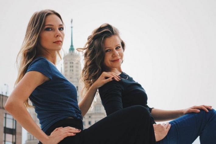 Пробный урок танго в начинающей группе от Ольги Барсуковой и Надежды Куликовой. Клуб Планетанго (Бауманская/Красносельская)